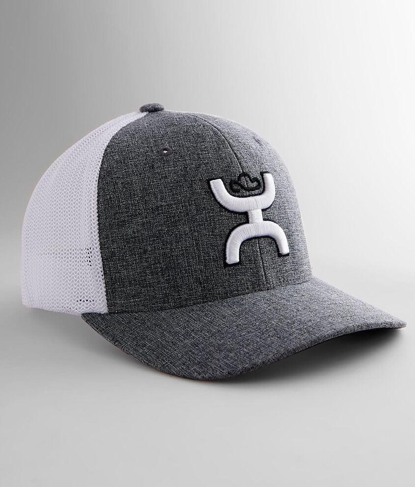 Hooey Logo Stretch Trucker Hat front view