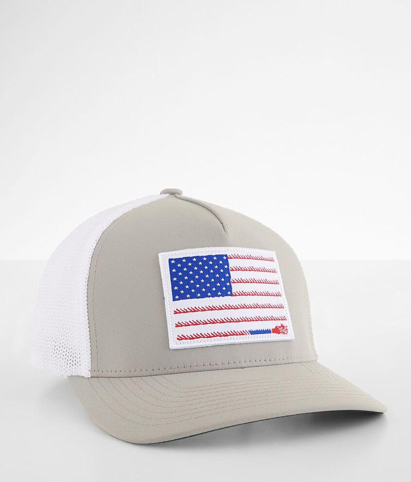 Hooey Liberty Roper Stretch Trucker Hat front view