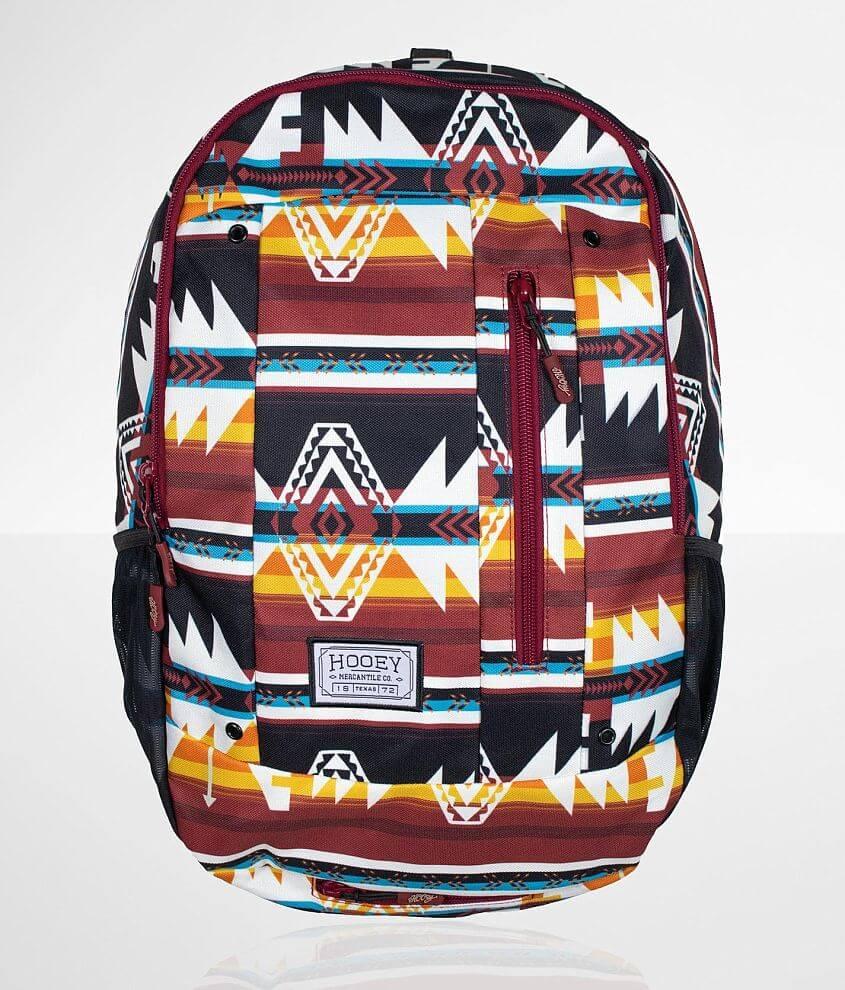 Hooey Rockstar Aztec Backpack front view