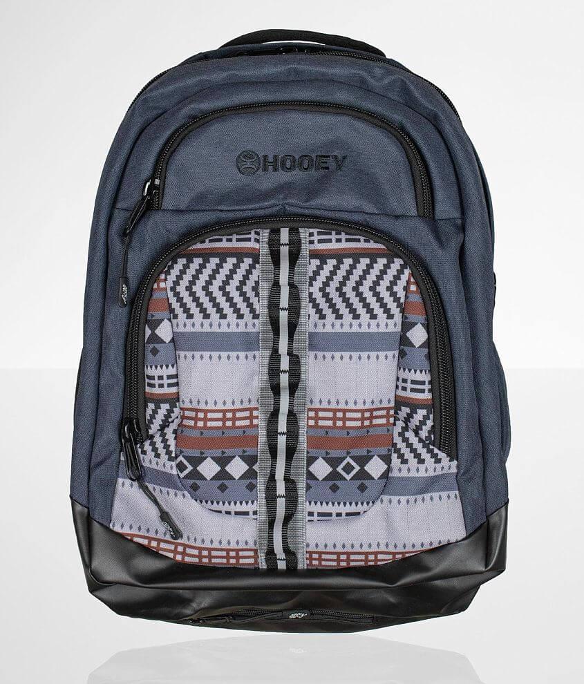 Hooey Ox Denim Backpack front view
