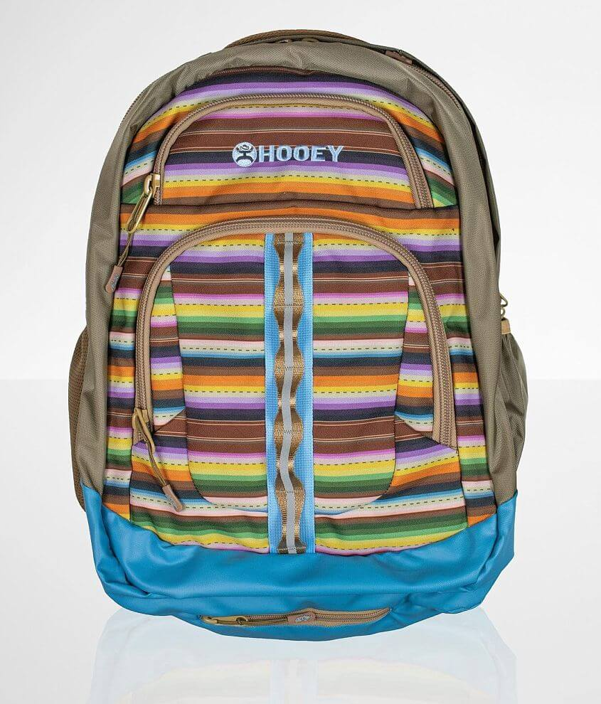 Hooey Ox Striped Backpack front view