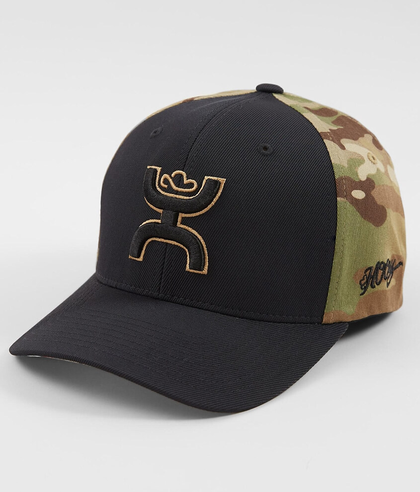 san francisco cd7ba fb421 ... coupon for hooey chris kyle camo stretch hat mens hats in black multi  camo buckle 8277a