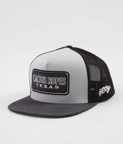 Hooey Cactus Ropes Texas Trucker Hat