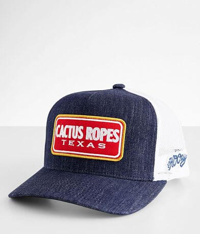Hooey Cactus Ropes Texas Trucker Hat