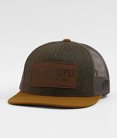 Hooey Cactus Ropes Trucker Hat