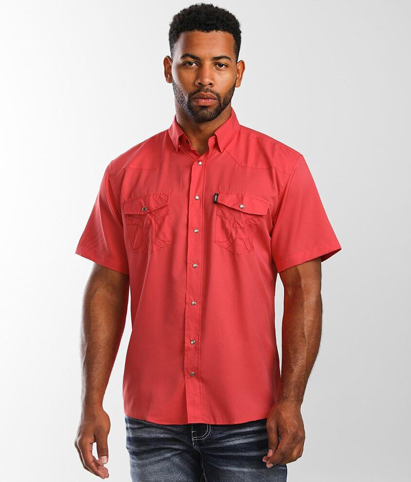 Hooey Sol Western Shirt front view