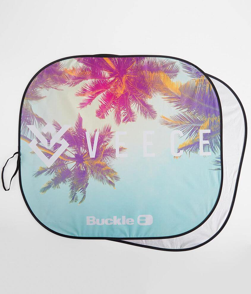 Veece Spring Brand Event Auto Sun Shade front view