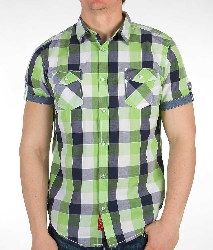 Projek Raw Plaid Shirt   Top and Clothing