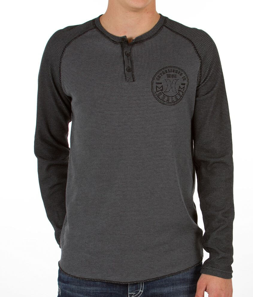 Hurley Dispatch Thermal Henley front view