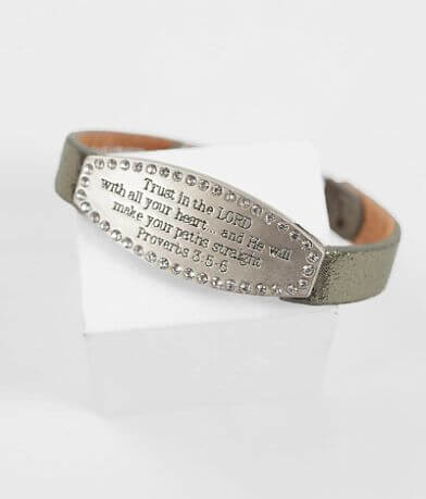 Good Work(s) Scripture Proverbs 3:5-6 Bracelet