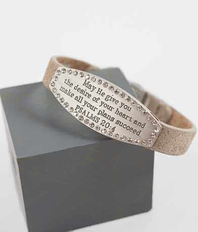 Good Work(s) Scripture Psalms 20:4 Bracelet