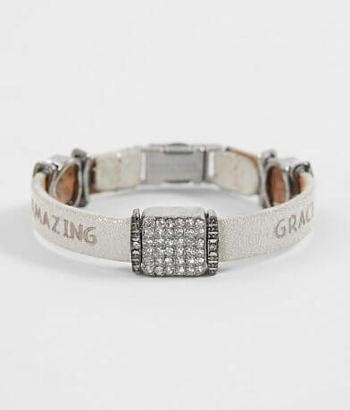 Good Work(s) Remember Leather Bracelet