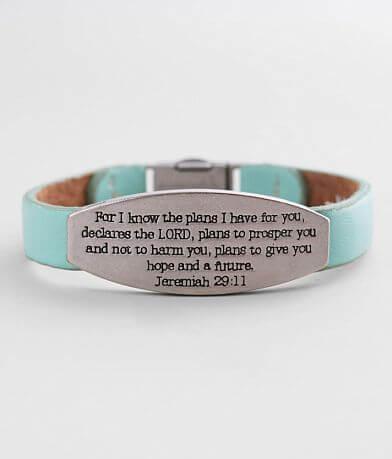 Good Work(s) Peace Single Leather Bracelet