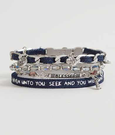 "Good Work(s) Wonder ""Matthew 7:7"" Bracelet"