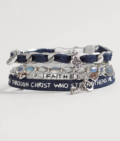 "Good Work(s) Wonder ""Philippians 4:13"" Bracelet"