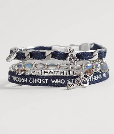 "Good Work(s) Wonder ""Philippians 4:13"" Bracelet"