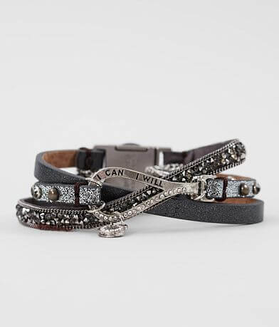Good Work(s) Fabulous Trio Leather Bracelet