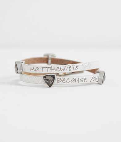 Good Work(s) Fortune Matthew 8:13 Bracelet