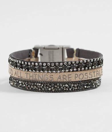 Good Work(s) Victory Trio Leather Bracelet