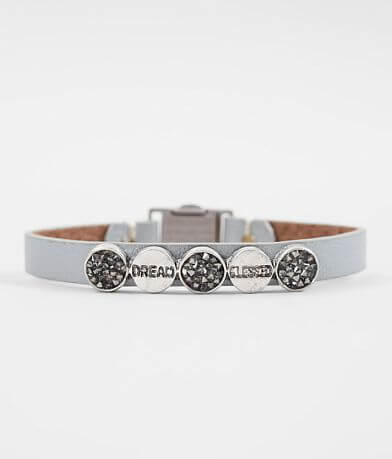 Good Work(s) Justice Leather Bracelet