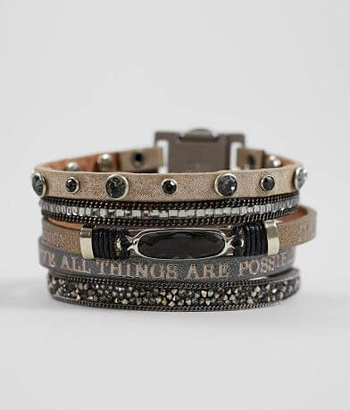 Good Work(s) Come Together Leather Bracelet