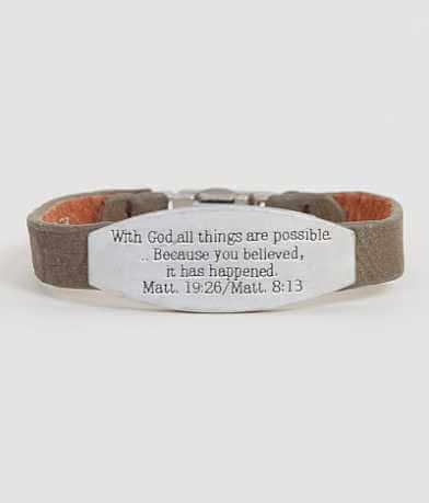 Good Work(s) Matthew 19:26 Bracelet