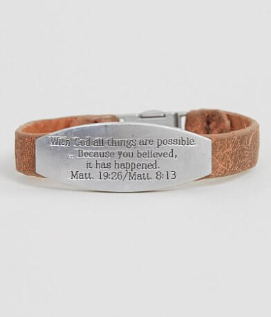 Good Work(s) Matthew 19:26 Bracelet