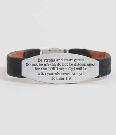 Good Work(s) Joshua 1:9 Bracelet