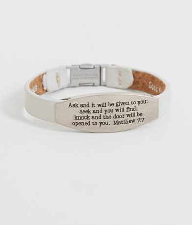Good Work(s) Peace Matthew 7:7 Bracelet