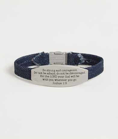 "Good Work(s) Peace ""Joshua 1:9"" Bracelet"