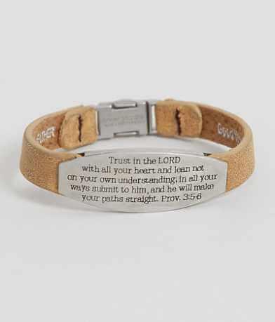 Good Work(s) Proverbs 3:5-6 Bracelet