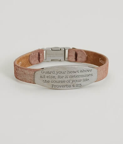 Good Work(s) Proverbs 4:23 Bracelet