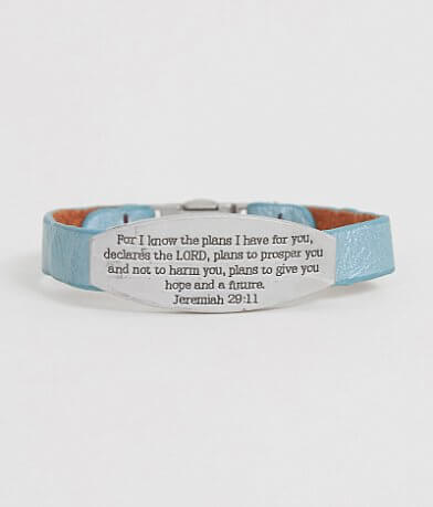 Good Work(s) Jeremiah 29:11 Bracelet
