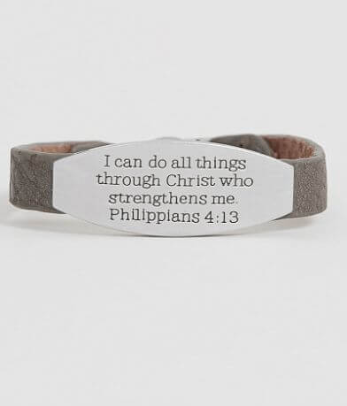 Good Work(s) Peace Philippians 4:13 Bracelet