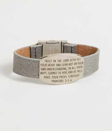 "Good Work(s) Serene ""Proverbs 3:5-6"" Bracelet"