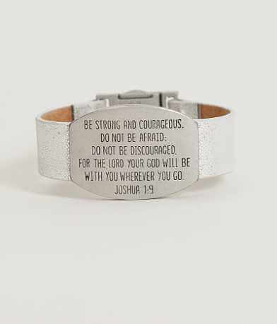 Good Work(s) Joshua 1:9 Bracelet