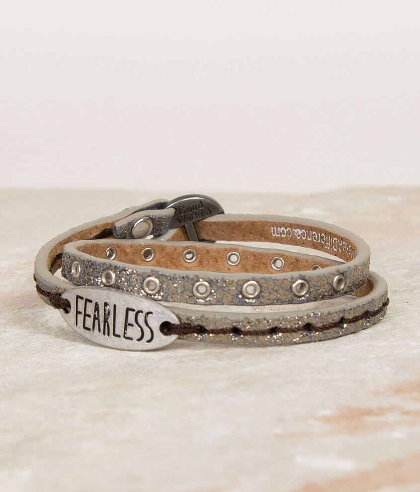 Good Work(s) Fearless Bracelet front view