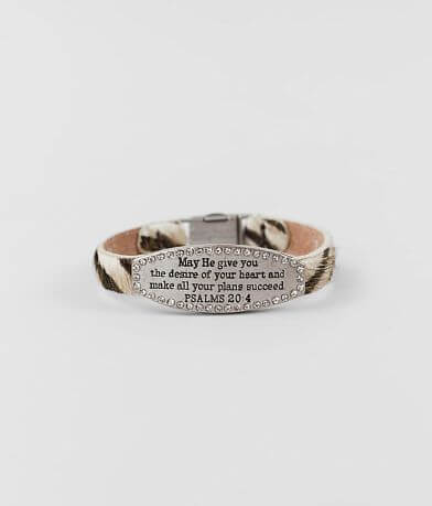 Good Work(s) Tranquility Leather Bracelet