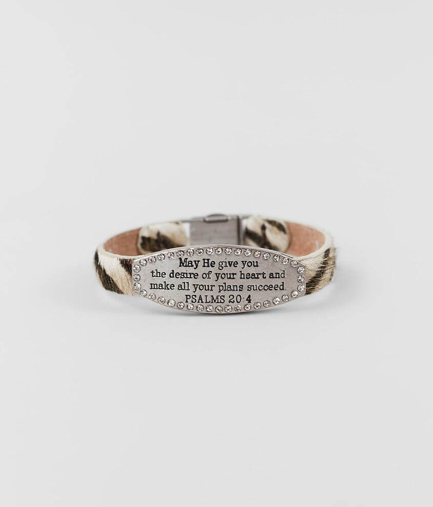 Good Work(s) Tranquility Leather Bracelet front view