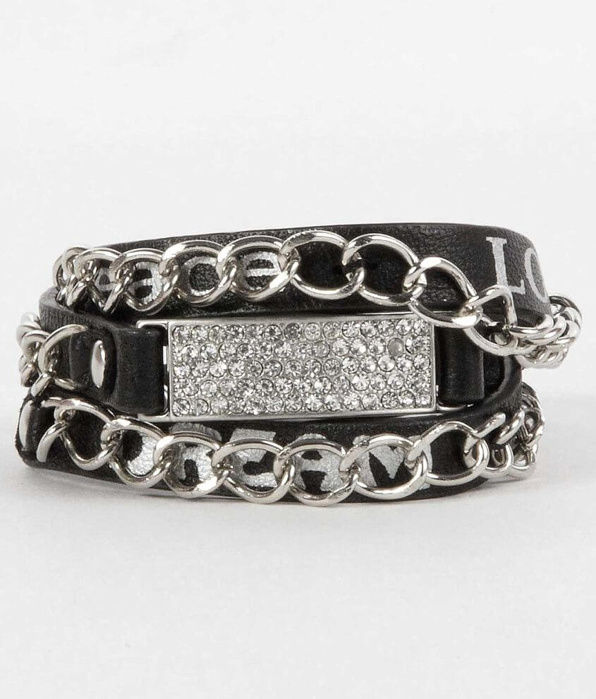 Good Work(s) Friendship Chain Bracelet front view