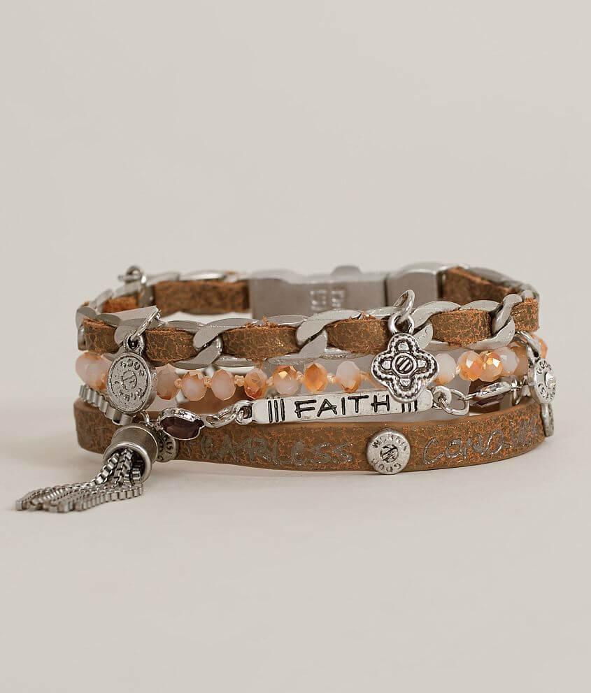 Good Work(s) Wonderquad Faith Bracelet front view