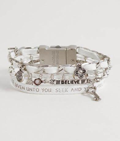 """Good Work(s) Wonder """"Matthew 7:7"""" Bracelet"""