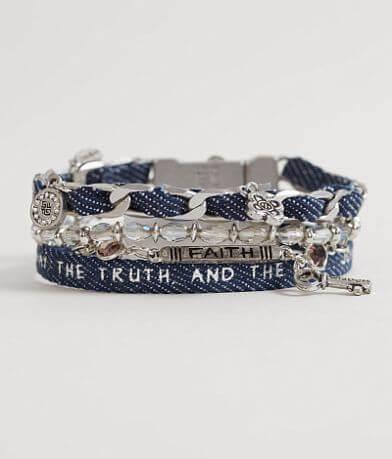 """Good Work(s) Wonder """"John 14:6"""" Bracelet"""