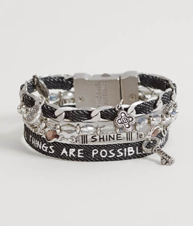 "Good Work(s) Wonder ""Matthew 19:26"" Bracelet"