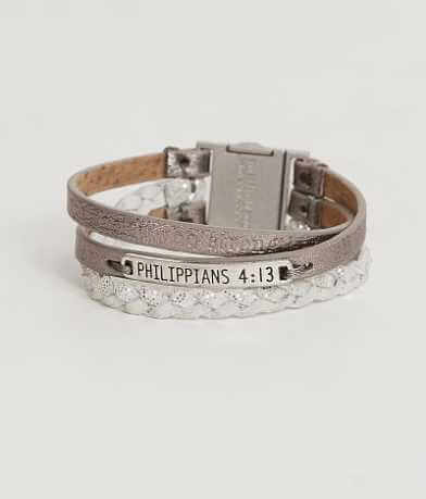 Good Work(s) Philippians 4:13 Bracelet