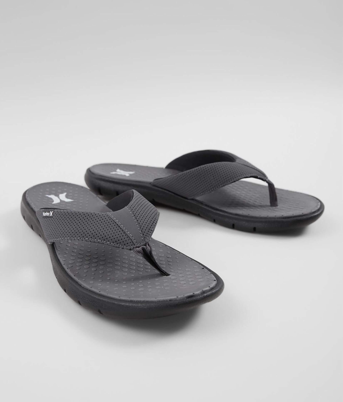 In 2 Men's Dark Hurley GreyBuckle 0 Shoes Flex Flip fI7ybmYgv6