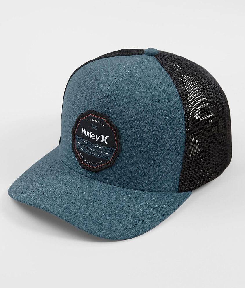 Hurley Swell Dri-FIT Stretch Trucker Hat front view