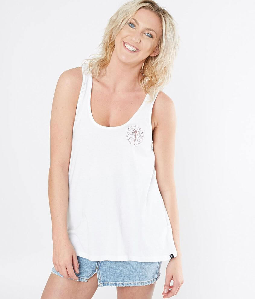 848cdcc2b36ab Hurley Trust Perfect Tank Top - Women s Tank Tops in White