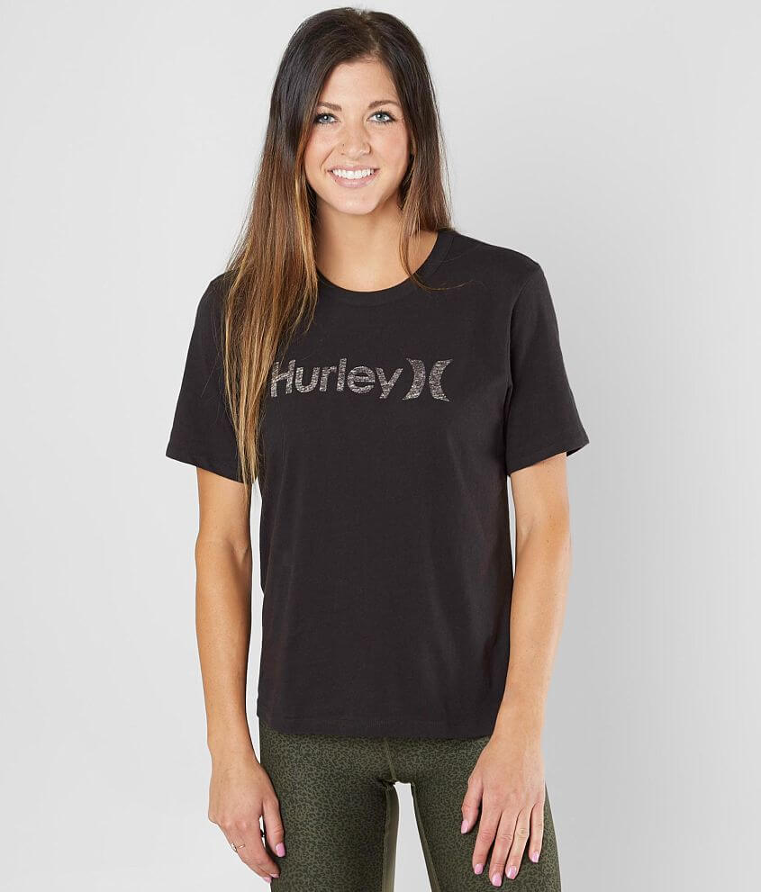 authentic quality good quality most popular Hurley One & Only T-Shirt - Women's T-Shirts in Black | Buckle