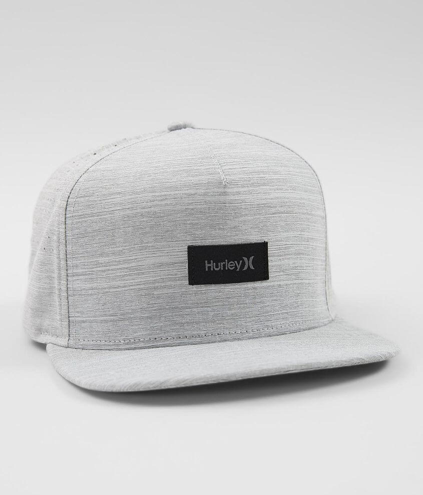 e08a9ab8 Hurley Staple Dri-FIT Stretch Hat - Men's Hats in Wolf Grey | Buckle